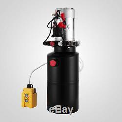 Remorque De Décharge De Pompe Hydraulique Double Effet De 8 Pintes Déchargeant La Voiture 12v