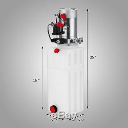 Remorque De Pompage De Pompe Hydraulique À Simple Effet, 10 Litres, Voiture De Levage En Plastique