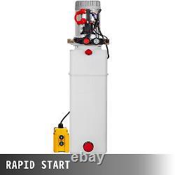 Remorque Hydraulique À Double Action 12 Quart Pack Déchargement Du Réservoir