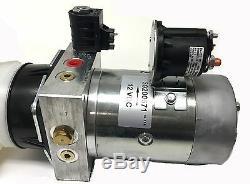 Remorque Simple De Décharge De CC 12v À Unité De Puissance De Pompe Hydraulique 10 Pintes Avec À Distance