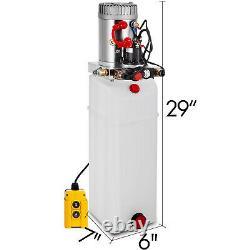 Réservoir De Déchargement De Pompe Hydraulique À Double Action De 12 Litres
