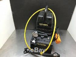 Simplex Pompe Hydraulique 10000 Psi Dump Pompe Auto 2 Gal Res Rétraction 1-1 / 2 HP 120v