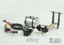 Système De Cylindre D'huile Hydraulique Pompe Esc Lesu Pour 1/14 Rc Tamiya Dump Truck Modèle
