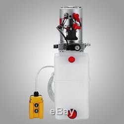 Voiture D'ascenseur De Grue De Remorque De Pompe Hydraulique À Effet Simple
